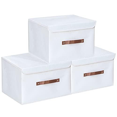 Yawinhe 3 PCS Cajas de almacenaje, Cajas de...