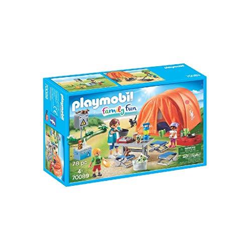 PLAYMOBIL Family Fun Tienda de Campaña, A partir...