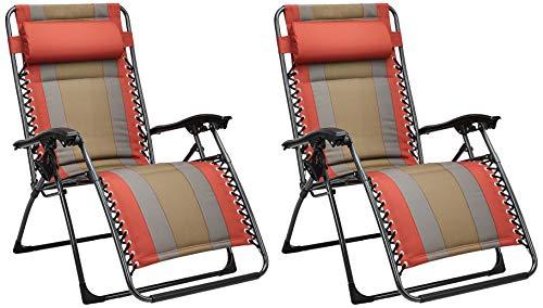 Amazon Basics - Set de 2 sillas acolchadas con...