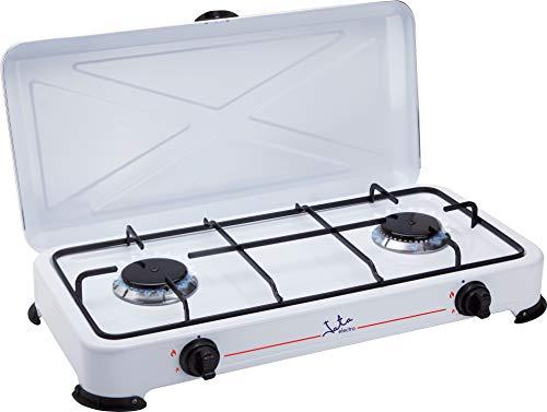 Jata CC705 Cocina de Gas para Camping con 2...