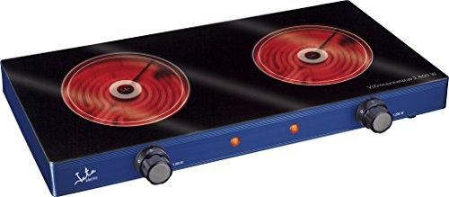 Jata V142 Cocina Eléctrica Vitrocerámica con Dos...