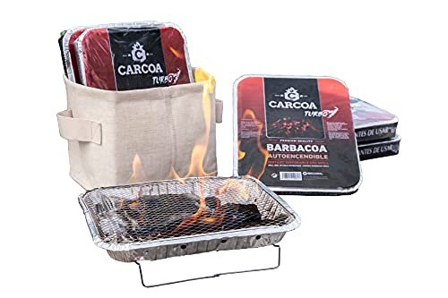 Barbacoas Autoencendibles Carcoa. 10 uds. Perfecta...