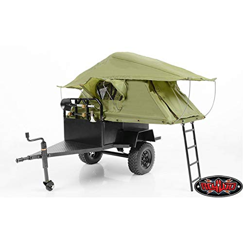 RC4WD Bivouac M.O.A.B Camping Trailer w/Tent by...