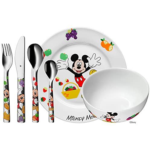 WMF Disney Mickey Mouse - Vajilla para niños 6...