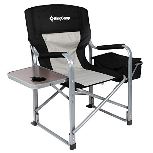 KingCamp Silla plegable de acero para servicio...