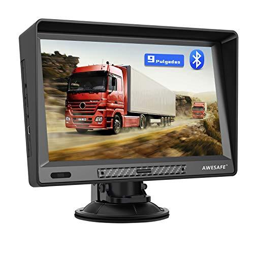 AWESAFE Navegador GPS para Camiones y Coches de 9...