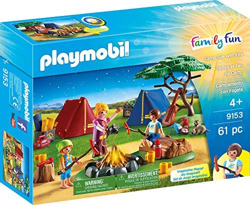 PLAYMOBIL 9153 - Tienda de campaña con fogata...