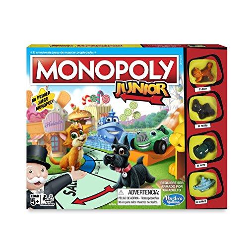 Monopoly- Junior, versión Española (Hasbro...
