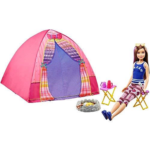 Barbie Tiendas de campaña o Acampada para...