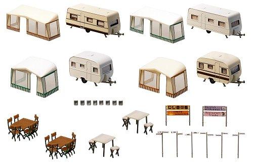 Faller F130503 - Juego de miniaturas de caravanas...