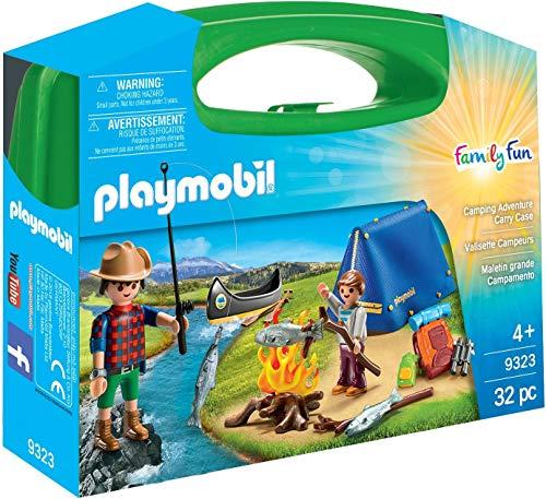 PLAYMOBIL Family Fun Maletín Grande Camping, A...