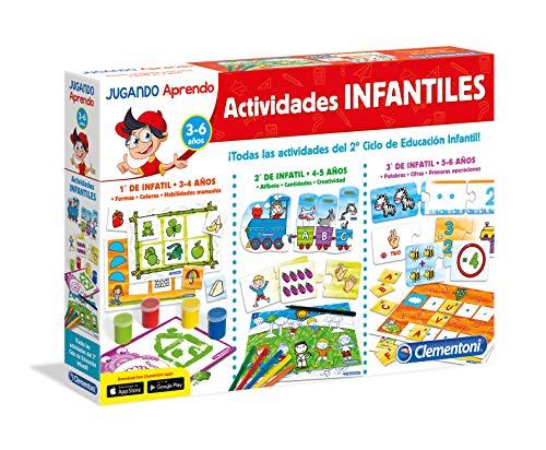 Clementoni-65557 - Actividades Infantiles - juego...