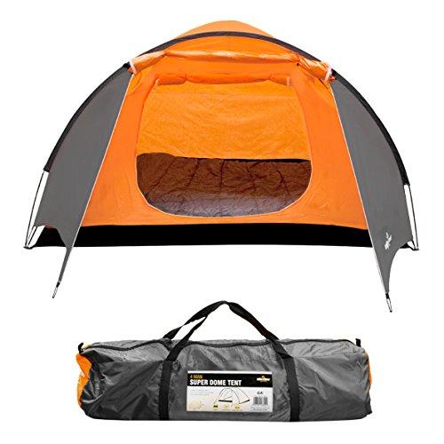 Milestone Camping Tienda súper iglú para Cuatro...