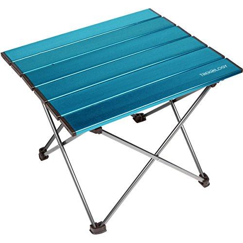 TREKOLOGY Mesa de Camping portátil con Tablero de...