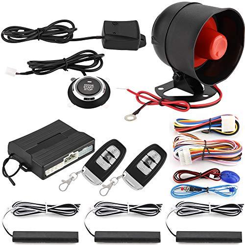 Qiilu Smart PKE Sistema de Alarma de automóvil de...
