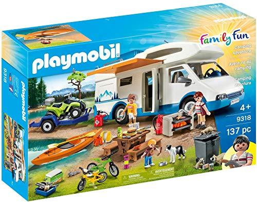 PLAYMOBIL 9318 - Family Fun Camping Aventura, a...