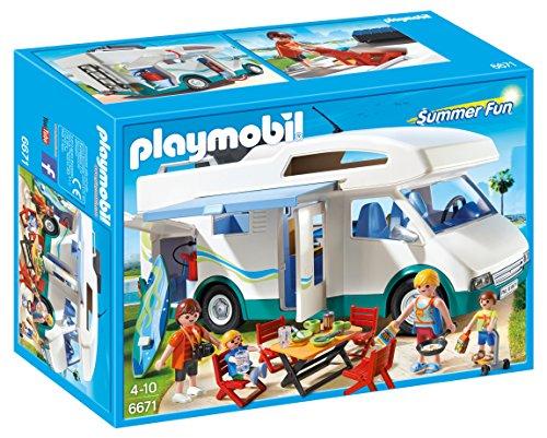 PLAYMOBIL Summer Fun 6671 Caravana de Verano, A...