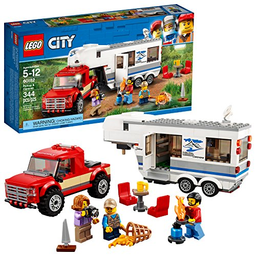 LEGO City 60182 Pickup & Caravan Building Kit