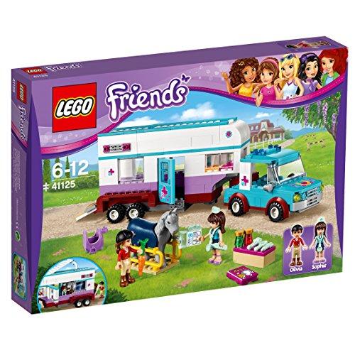 Lego Friends - Remolque del Veterinario de...