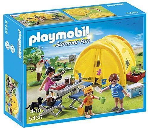 PLAYMOBIL Vacaciones - Tienda de campaña Familiar...