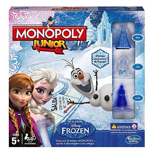 Hasbro - Juego de Mesa Monopoly Junior con diseño...