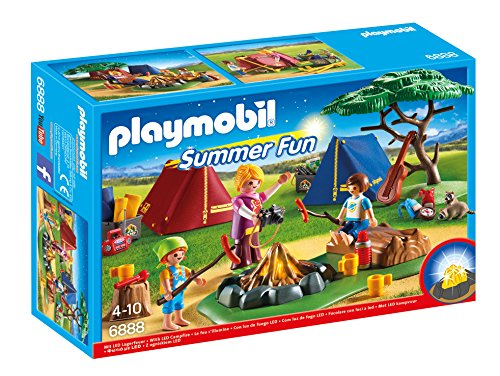 Playmobil Campamento de Verano-6888 Playset,...