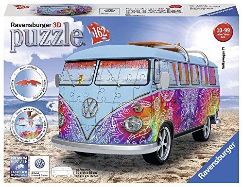 Ravensburger- Puzzle 3D Furgoneta Volkswagen...