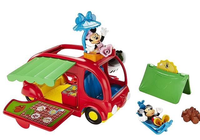 Mickey Juguetes Mouse De Autocaravanas Caravana fgvbyY76