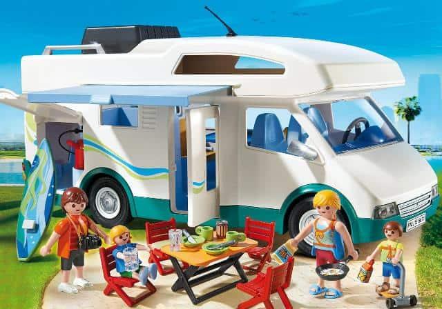 juguete playmobil autocaravana