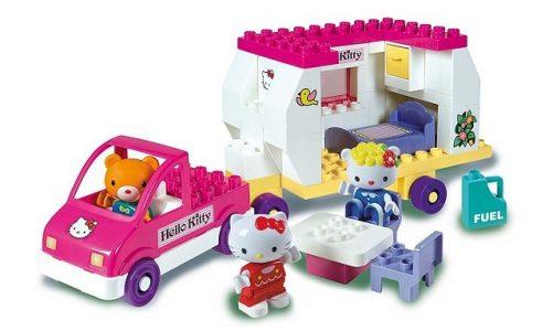 Autocaravana de Hello Kitty y Otros Personajes